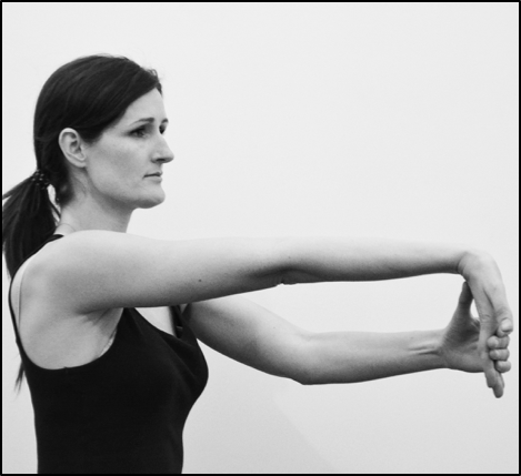 Wrist stretch for golfer's elbow