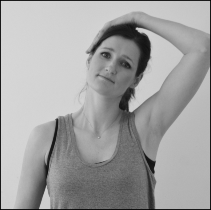 Neck stretch to relieve stiffness after whiplash injury