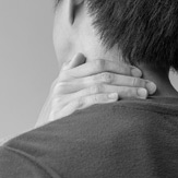 Patient with chronic neck pain