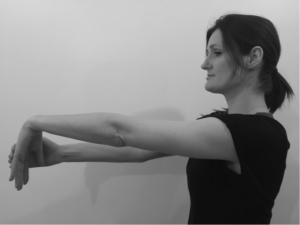 wrist stretch for tennis elbow