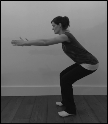 Correct squat technique. Strengthen glutes to relieve sciatic pain.