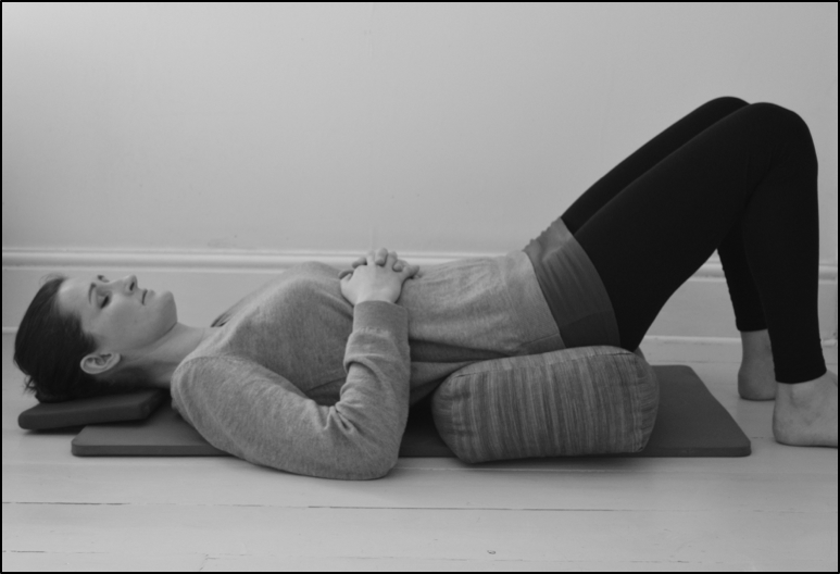 Best position to relive prolapse - physiotherapy advice