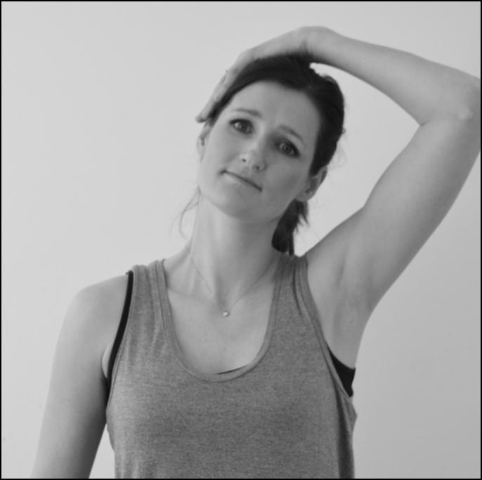 Neck stretch to relieve stiffness after whiplash injury