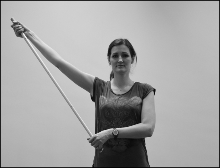 Arm lift exercise to improvement movement if you have impingement