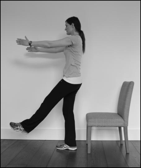 Exercise for preventing shin pain