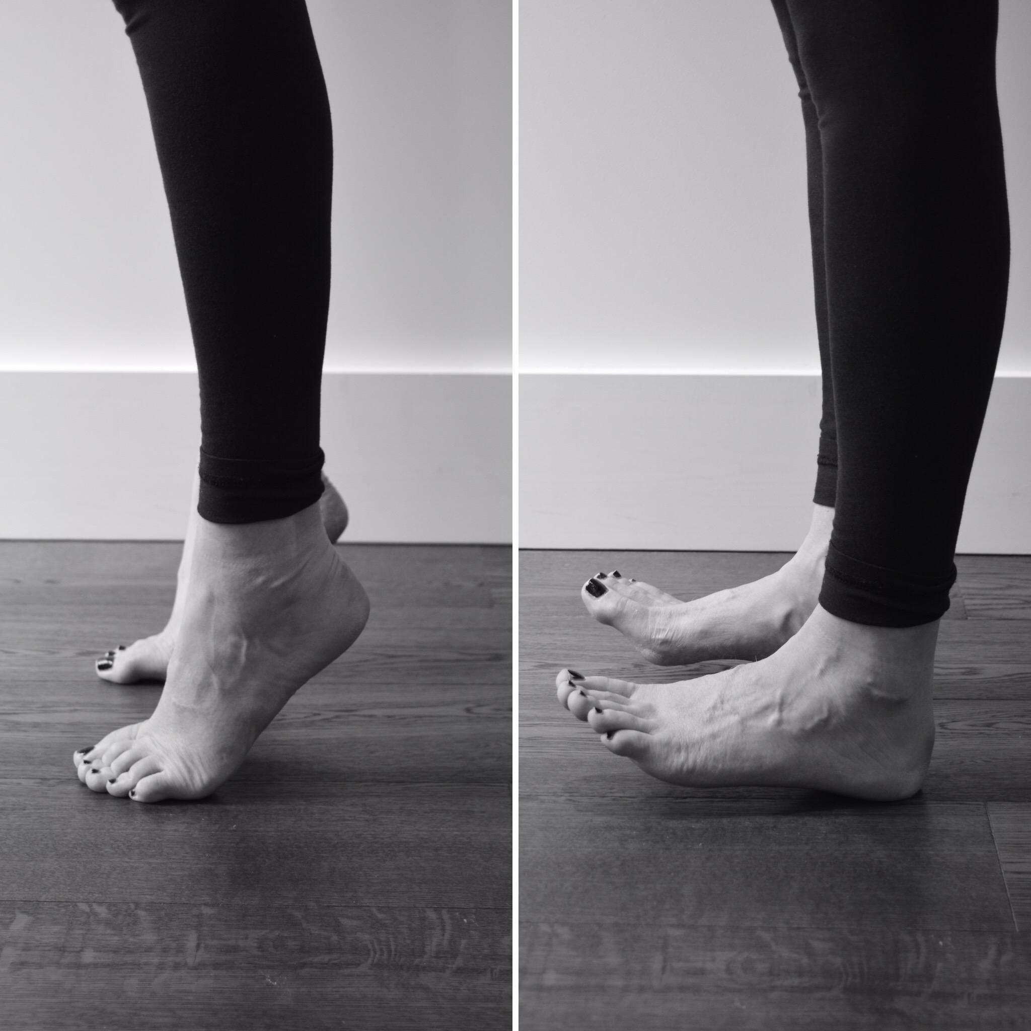 Rocking exercises to improve balance