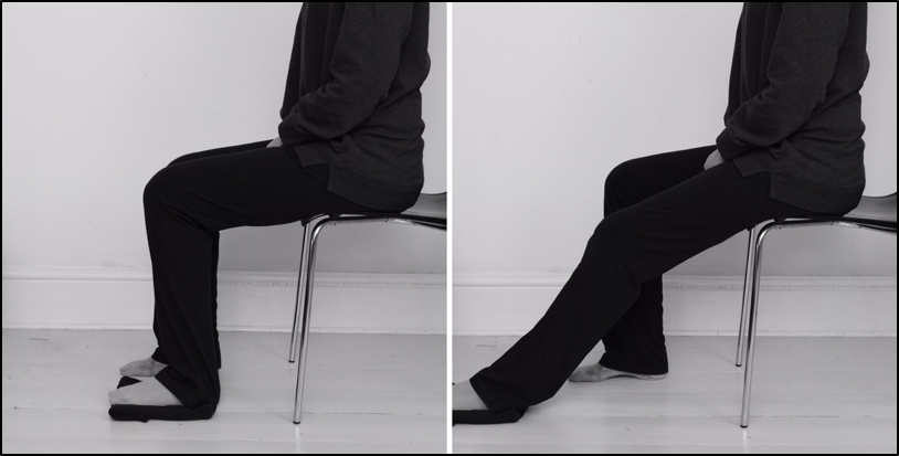 Knee bending exercise