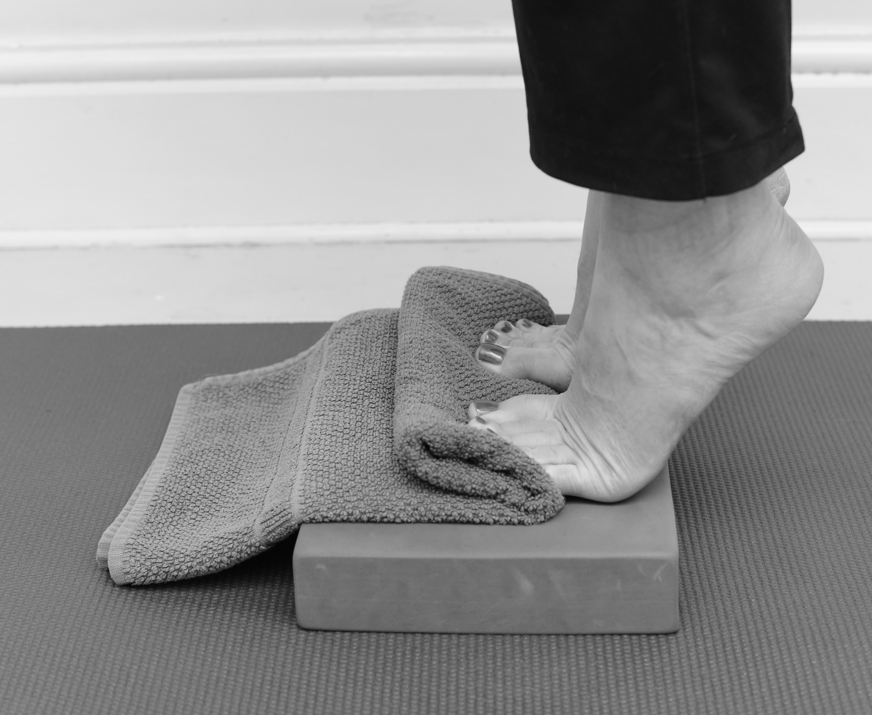 Strength training to reduce heel pain