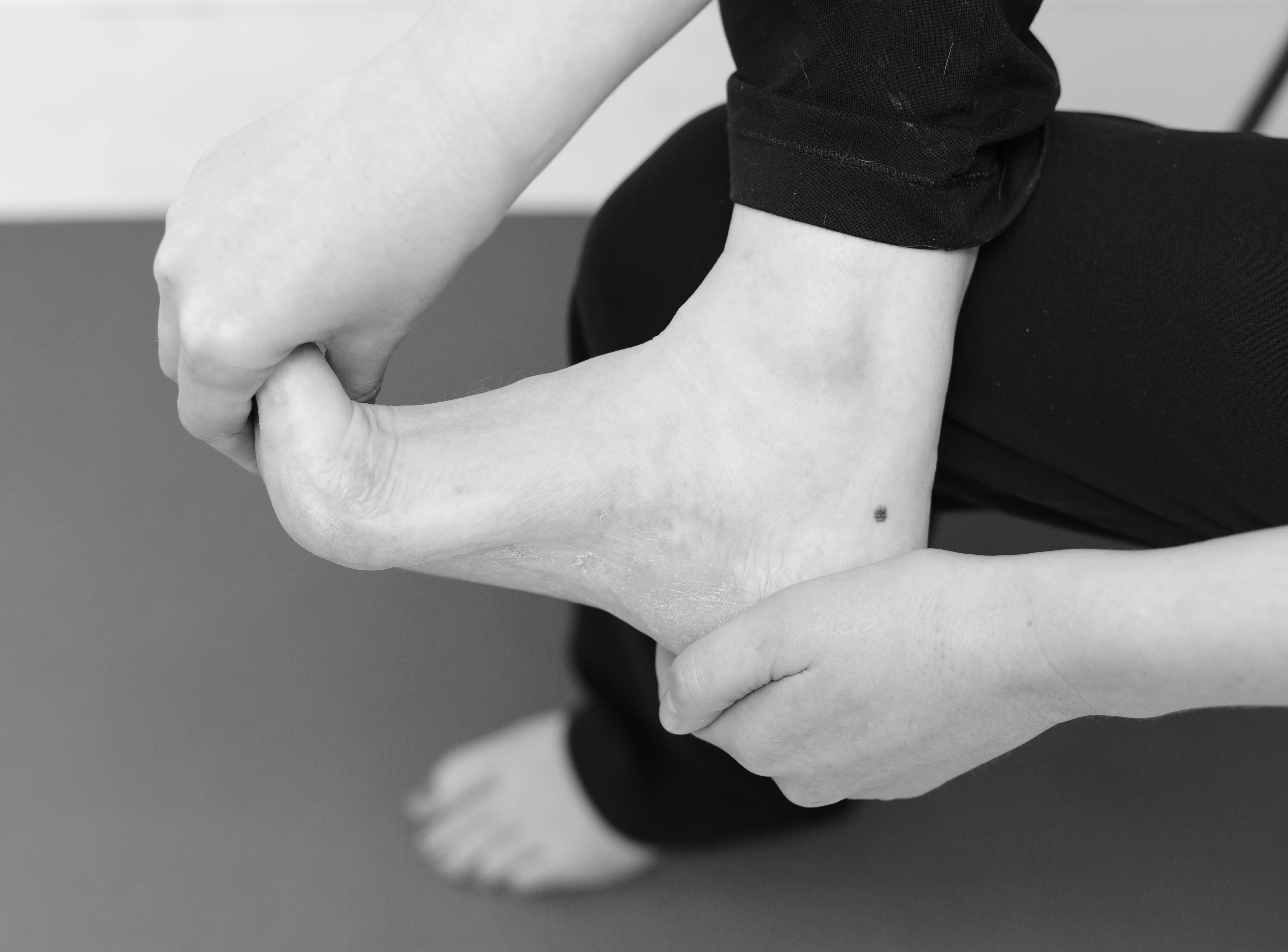 Stretch for the plantar fascia