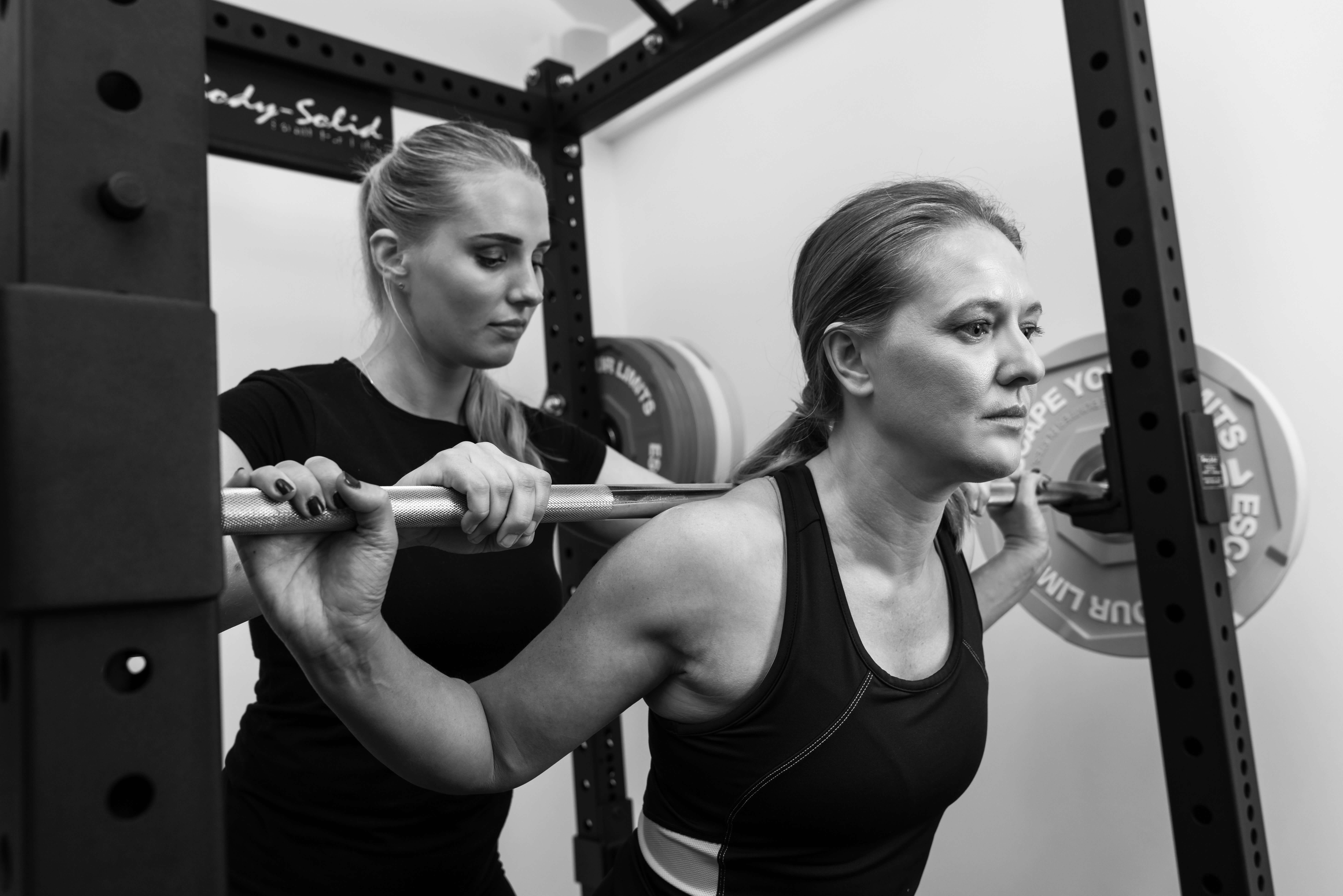 Exercising in the gym - Cambridge Physiotherapy and Sports Injury Clinic